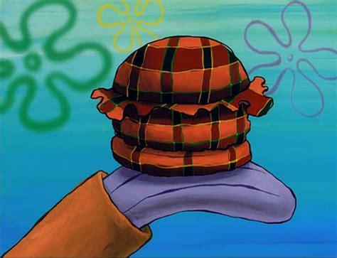 colored krabby patty spongebuddy mania the krusty krab
