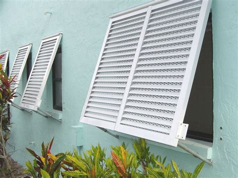 Clamshell Awning Hurricane Shutters Storm Shutter Protection With The