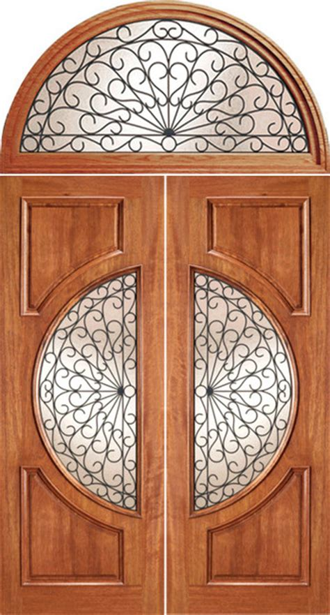 circle lite door transom mahogany