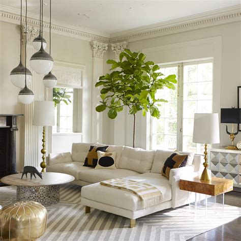 living room with white leather sofa top 20 pendant luxury lighting