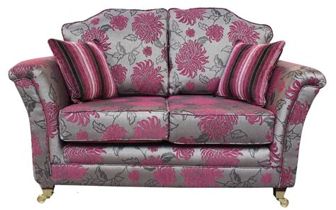 floral settee buy fabric 2 seat sofa 12 month warranty designersofas4u