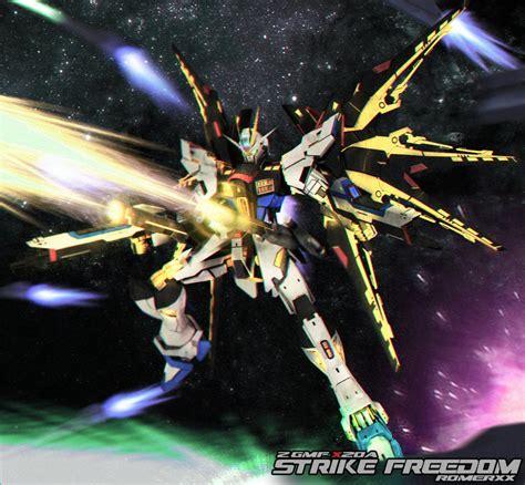 Zgmf X20a Strike Freedom Gundam Vergft zgmf x20a strike freedom gundam v custom by romerskixx on