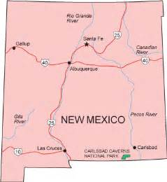 Nm State Map by New Mexico State New Mexico State University