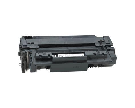 Toner Q7551a hp part q7551a toner cartridge hp 51a 6500 pages
