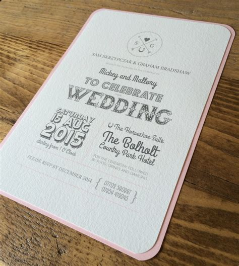 design wedding invitation uk bespoke wedding invitations design in rose pink