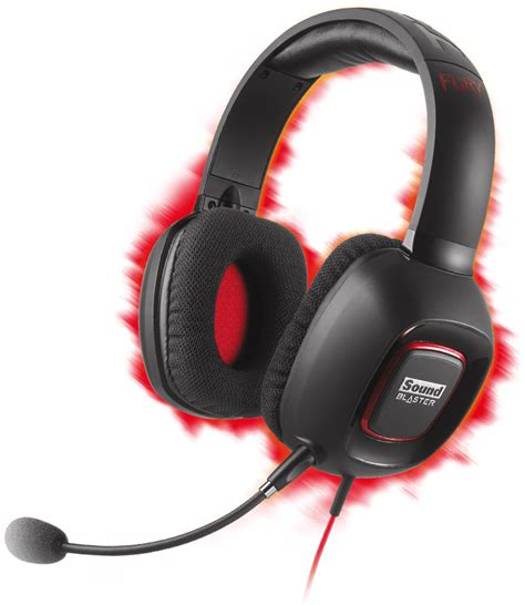 Sound Card Headset Gaming sound blaster tactic3d fury gaming headsets creative