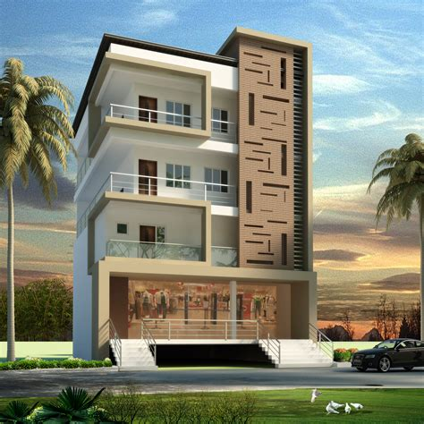 Appartment Elevation by Apartment Elevation Design Architectural Design