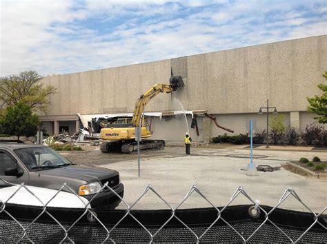 lincoln malls demolition of matteson s lincoln mall gets underway