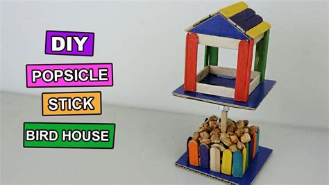 Diy Miniatur Papercraft Hewan Burung Cockatiel diy birdhouse with popsicle sticks diydry co