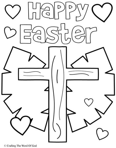 free printable easter coloring pages for sunday school empty 171 crafting the word of god