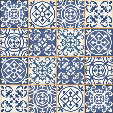 Moroccan Patchwork Tiles - seamless patchwork pattern moroccan tiles stock vector