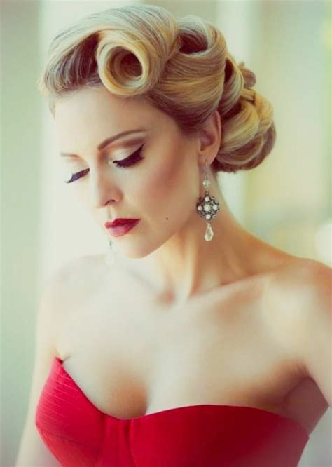 blonde vintage hairstyles 1001 ideas for rockabilly hair inspired from the 50 s