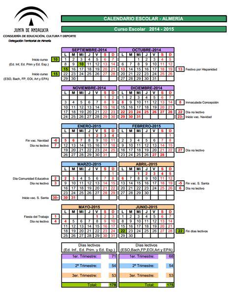 Calendario Escolar 2014 Usa Las Tic En Primaria