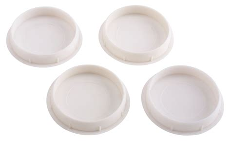 kitchen cabinet hole plugs b q hinge cover dia 35mm pack of 4 departments diy at b q