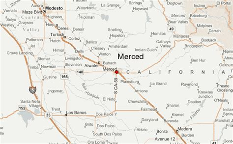 california map merced merced location guide