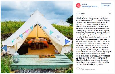 airbnb instagram 6 of the top b2c brands that are rocking instagram