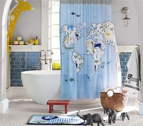 pottery barn kids bathroom ideas unique shower curtains reflect your own sense of
