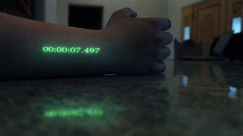 In-Time Effect, Arm clock - YouTube In Time Movie Clock