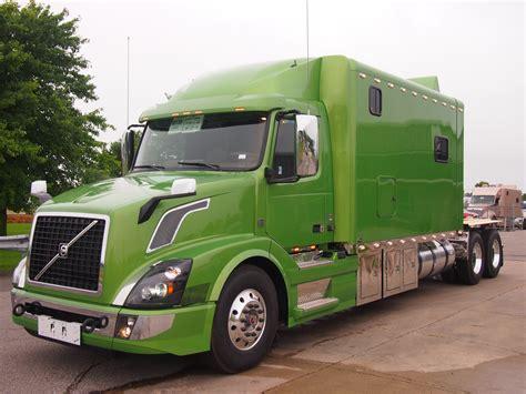 volvo sleeper truck volvo ari legacy sleepers