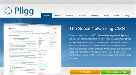powered by pligg cms 20 free cms systems for better content handling