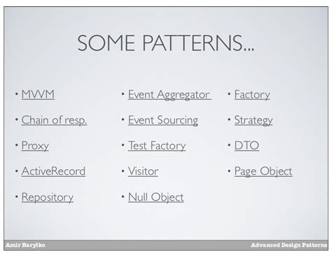 visitor pattern dto prdc12 advanced design patterns
