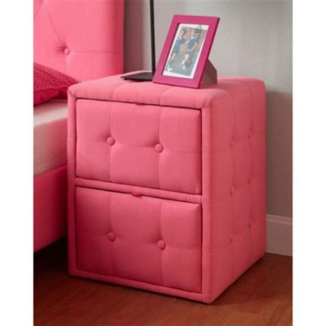 diva upholstered twin bed pink diva upholstered twin bed and nightstand set pink walmart com