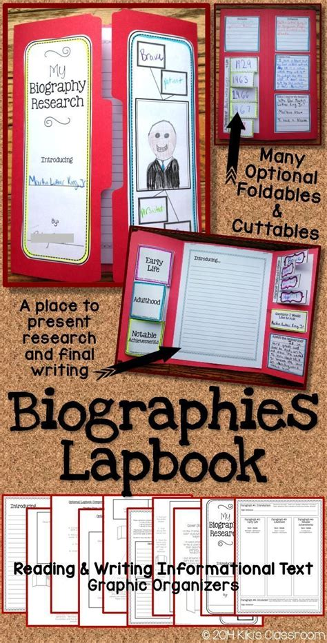 biography activity ideas 17 best images about biography ideas on pinterest