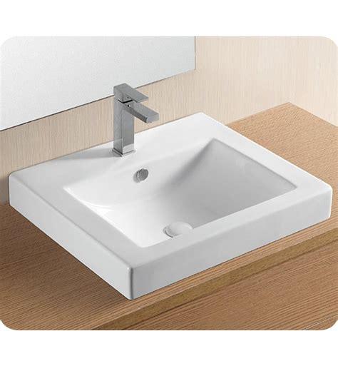 self rimming bathroom sink nameeks ca4024a caracalla self rimming bathroom sink