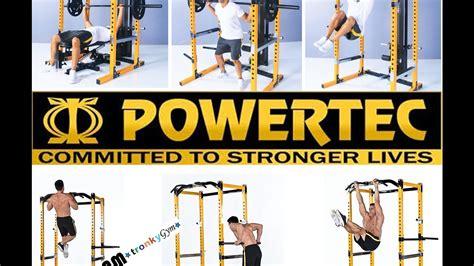 powertec power rack review powertec power rack wb pr 10 review tutorial come