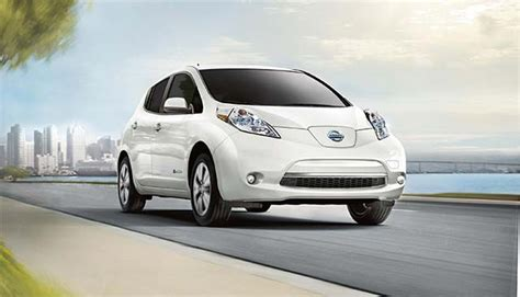 nissan leaf named one of kbb s quot 5 best electric cars