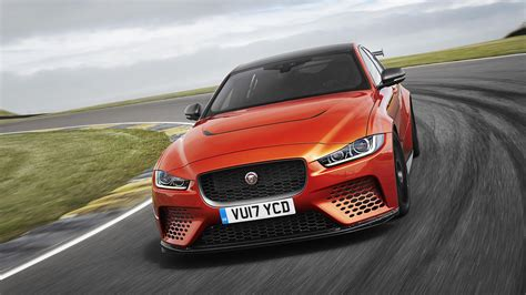 jaguar xe sv project     horsepower super sedan roadshow