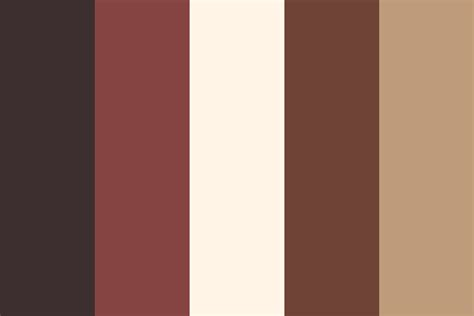 cup o coffee color palette