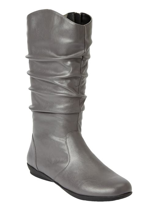 comfortview boots melia wide calf boot by comfortview plus size wide calf