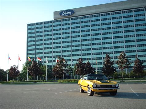 Ford World Headquarters Garage by 72 Grabber At Ford World Headquarters Maverick Comet Forums