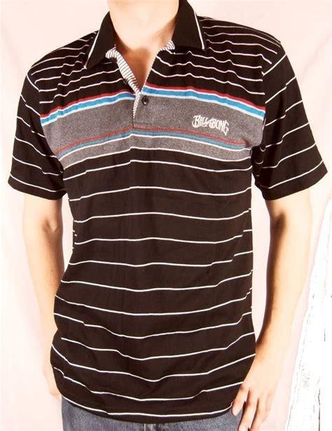 Jual Polo Shirt Billabong mens billabong surf polo t shirt top black grey s l ebay billabong polo shirts cool shirts