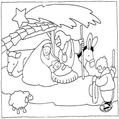 dibujos para pintar de navidad pesebres de navidad para pintar manualidades infantiles