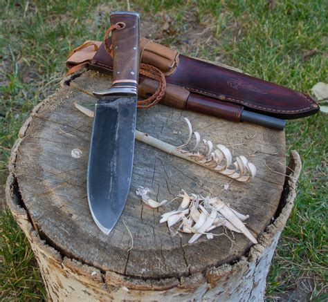 Handmade Mountain Knives - cariboo blades mediocre mountaineering