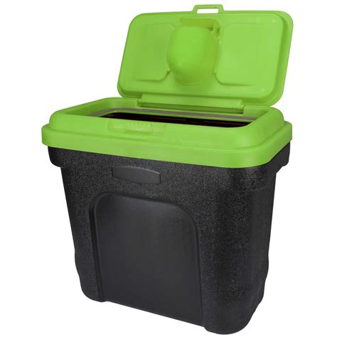 alimenti per animali domestici pet food storage container cat food bird seed bin