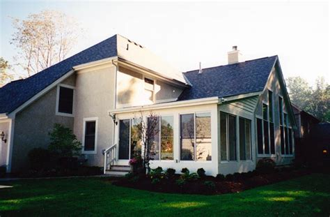Shed Roof Addition by Sunrooms Columbus Ohio 3 Season Room 4 Season Room