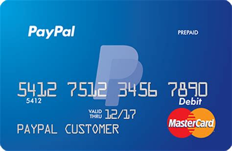 Mastercard Prepaid Gift Card - paypal prepaid mastercard the reloadable debit card from paypal