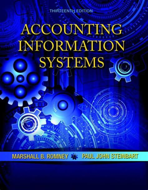 Eccounting Information Systems 1 accounting information systems edition 13 by marshall b