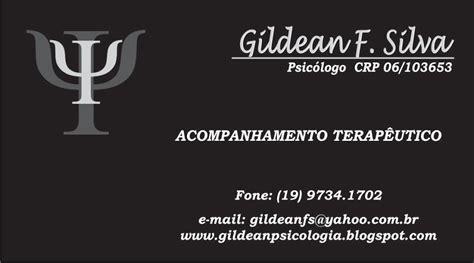 Modelo Curriculum Acompañante Terapeutico Gildean Freitas Da Silva Psic 243 Logo