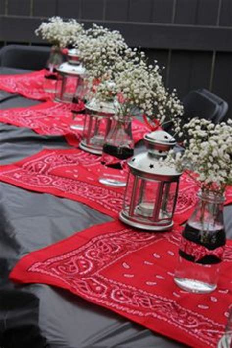 western table decorations cowboy table decoration ideas western theme ideas