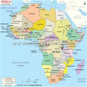 Africa On World Map by Africa Map Jpg