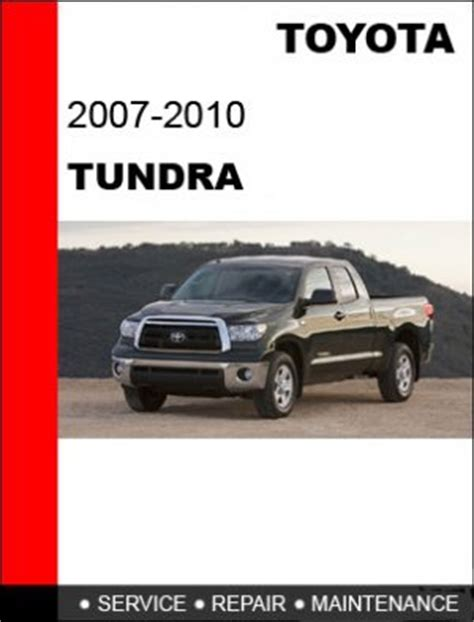 2007 2008 2009 2010 toyota tundra service repair manual cd
