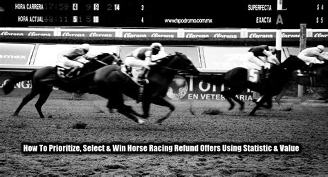 How To Win Money On Horse Racing - 10 horse racing refund offers best selection tactics to win