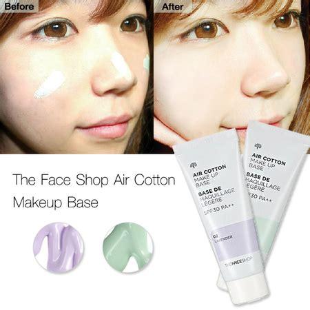 Makeup Base The Shop by The Shop Air Cotton Make Up Base Spf30 Pa