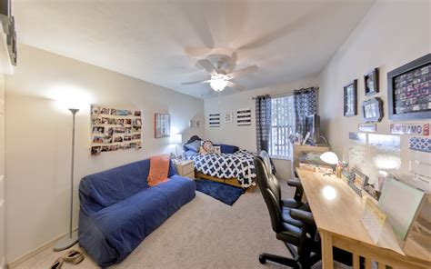 dorms in single rooms vs univeristy of florida