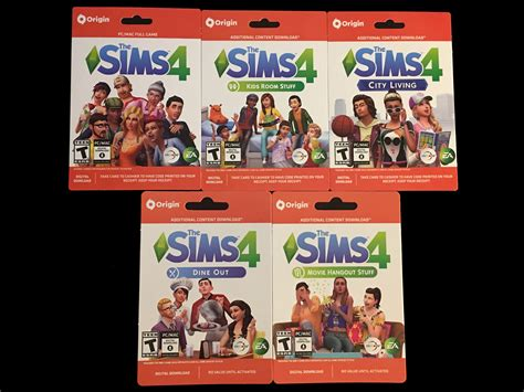 Sims 4 Gift Card - new select sims 4 games now sold as quot game cards quot simsvip