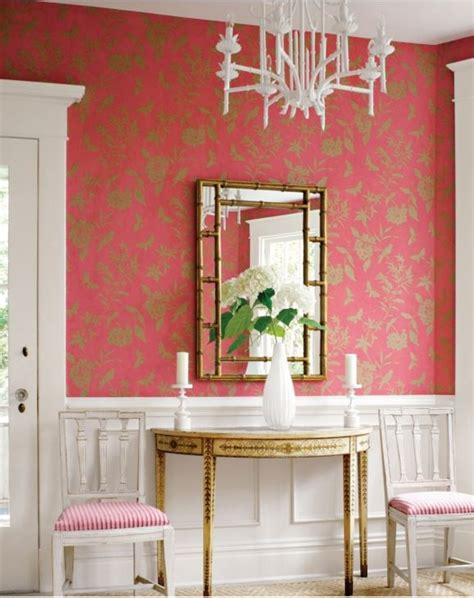 Beautiful Dining Room Sets by Wallpaper In The Entry Foyer Yay Or Nay